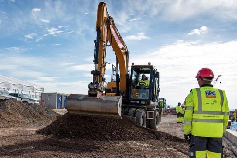Hinkley Point C Site preparation